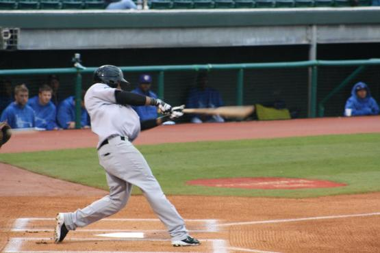Abraham Almonte had 6 hits for Tacoma last night in their 25-6 win at Colorado Springs.