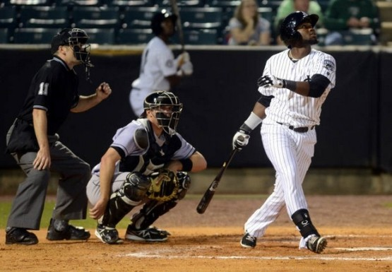 Julio Morban has an 11-game hitting streak (Megan Smith/Jackson Sun)