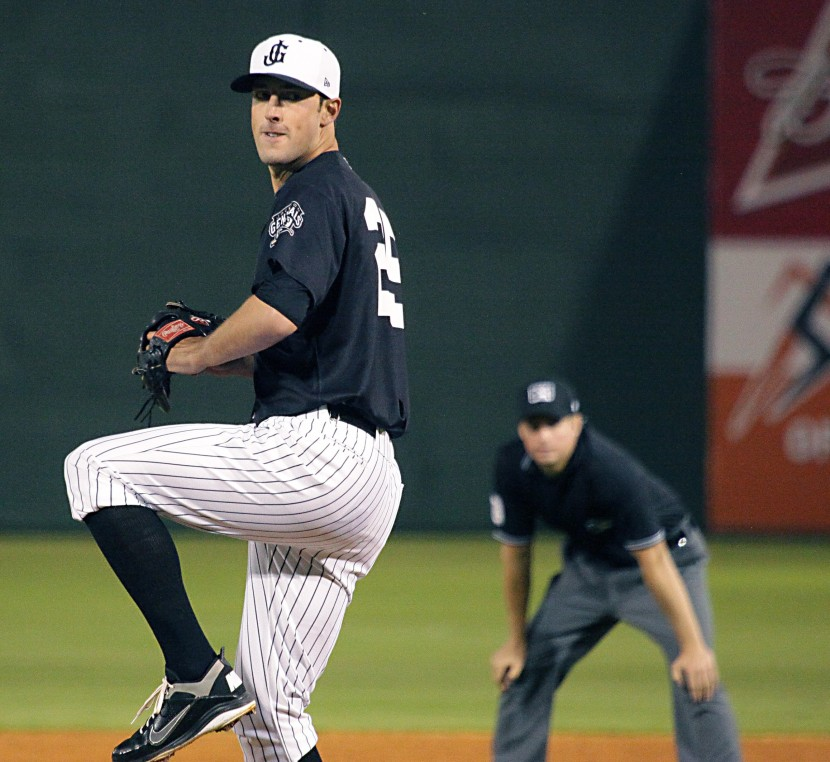 Forrest Snow pitched 3.1 scoreless innings of relief last night (Seth Chandler)