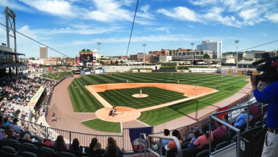 The Generals will play their first game in the new Regions Field in downtown Birmingham.