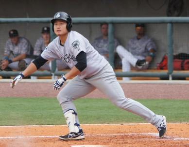 Ji-Man Choi blasted his 6th Jackson home run in last night's loss.