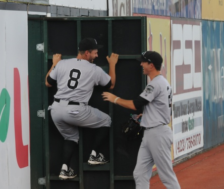Forrest Snow re-joined the Generals yesterday at game time. He was greeted in a strange way in the bullpen by catcher Mike Dowd.