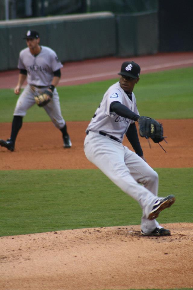 Southern League All-Star Roenis Elias starts tonight for the Generals.