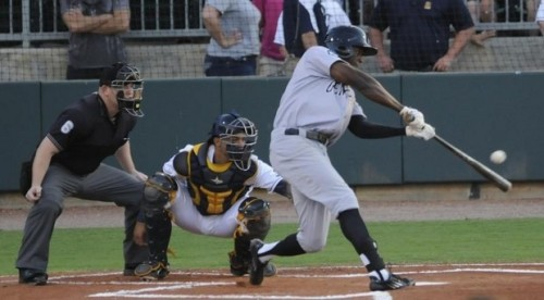 James Jones was 1-for-4 in last night's Southern League All-Star Game in jacksonville.
