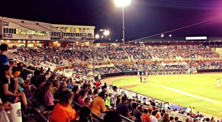 The largest crowd in August since 2000, 5,713 attended last night.