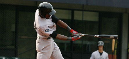 Jabari Blash hit his Mariners farm system leading 22nd home run last night.