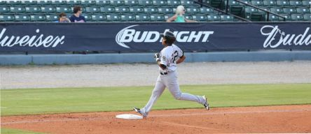 Ramon Morla blasted his 8th Jackson home run on Thursday.