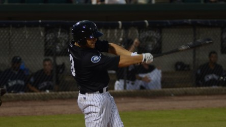 Steven Proscia belted 3 home runs in last night's 7-3 win.