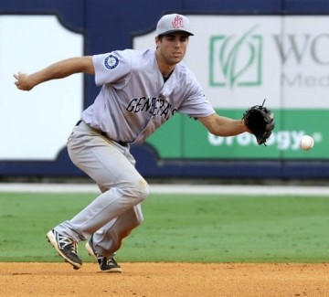 Chris Taylor was 3x4 last night during Jackson's loss in Mobile.