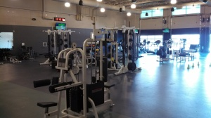 New training and workout facility
