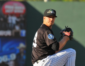 Tyler Olson picked up the win on Wednesday.